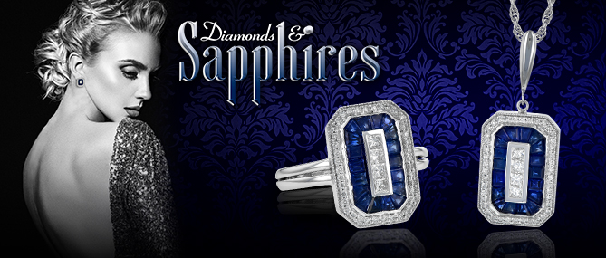 Diamonds & Sapphires