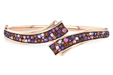 A242-88322: BANGLE 3.12 MULTI-COLOR 3.30 TGW (AMY,GT,PT)