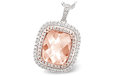 B242-85586: NECK 4.20 MORGANITE 4.66 TGW