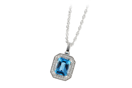 G241-93749: NECK 1.75 BLUE TOPAZ 1.86 TGW