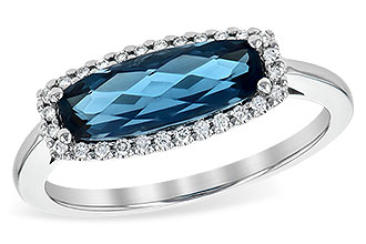 G244-68349: LDS RG 1.79 LONDON BLUE TOPAZ 1.90 TGW