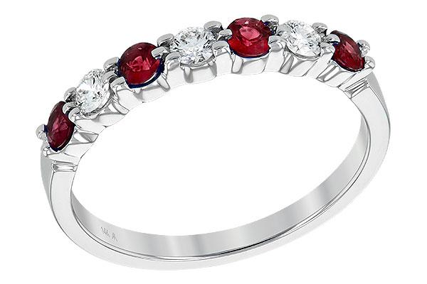 H240-16494: LDS WED RG .35 RUBY .55 TGW