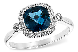 M243-73749: LDS RG 1.62 LONDON BLUE TOPAZ 1.78 TGW